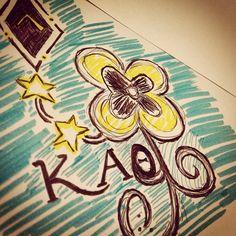 craft   Kappa Alpha Theta #theta1870 #thetadiy