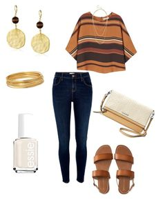 """""""Untitled #336"""" by kmysoccer on Polyvore featuring River Island, MANGO, Kenneth Jay Lane, Stella & Dot, Bold Elements, Essie and Aéropostale"""