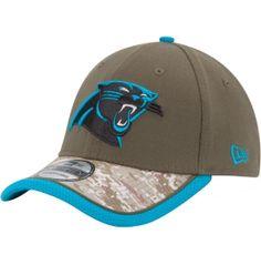 6c3431bed New Era Men s Carolina Panthers Salute to Service 39Thirty Flex Fit Hat