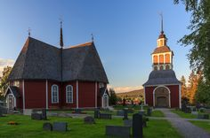 Off the beaten road in Sweden - Övertorneå church is the best preserved church from the 18th century in north Sweden