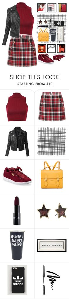 """""""it's good to be weird"""" by bartivana ❤ liked on Polyvore featuring Pilot, rag & bone, LE3NO, Puma, The Cambridge Satchel Company, Marc Jacobs and Bobbi Brown Cosmetics"""