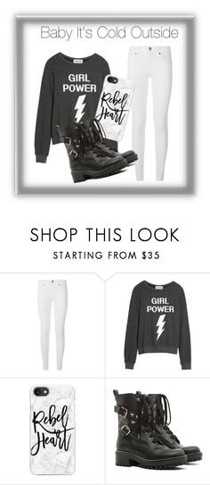 """Baby It's Cold Outside"" by amandafashions ❤ liked on Polyvore featuring Burberry, Dream Scene, Casetify and RED Valentino"