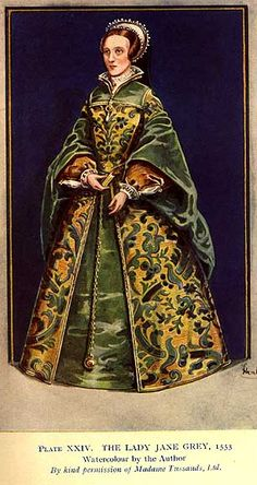 Lady Jane Grey, 16th century