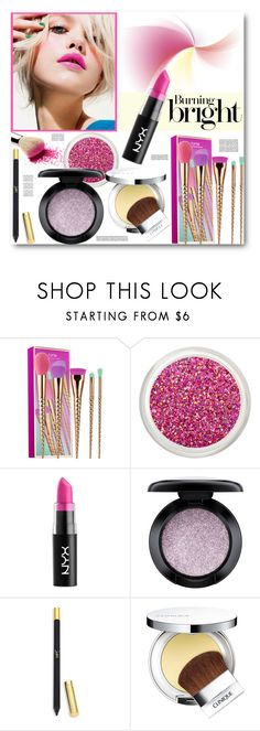 """Burning Bright Beauty"" by brendariley-1 ❤ liked on Polyvore featuring beauty, tarte, Chanel, NYX, MAC Cosmetics, Christian Louboutin, Clinique, Beauty, makeup and brightcolors"