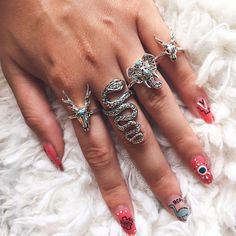 How amazing are these @emptycasket sterling silver rings! @leannelimwalker