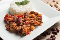 CHILLI CON CARNE - Sabia que essa maravilha não é mexicana e sim um prato super típico do Texas (EUA)??? :O