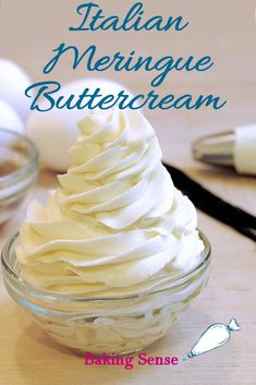 Italian Meringue Buttercream is easier than you think! How-to video showing exactly how the butter will look as you make it. Italian Meringue Buttercream is easier than you think! How-to video showing exactly how the butter will look as you make it. Italian Buttercream, Italian Meringue, Buttercream Roses, Food Cakes, Cupcake Cakes, Patisserie Fine, Icing Frosting, French Buttercream Frosting Recipe, Butter Cream Icing Recipe