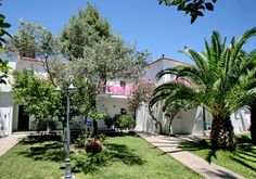 Malemi Organic Hotel, Lesvos Island, Greece. The hotel is an ideal location from where you can set off on various activities and travel around the island http://www.organicholidays.com/at/3216.htm