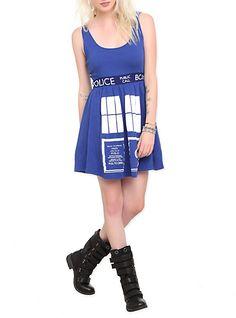 Doctor Who Her Universe TARDIS Costume Dress
