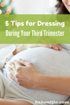 The third trimester is a very exciting phase of pregnancy but it also comes with some challenges, especially when it comes to weight gain. Here are some handy tips for dressing during your third trimester.  #DressingThirdTrimester #MaternityClothing #PregnancyClothing