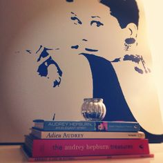 Audrey Hepburn, my little home collection