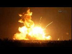 Antares Rocket Explodes On Launch: The Antares rocket that was supposed to deliver cargo and supplies to the International Space Station crashed upon launch Tuesday night. Here's the sad footage of the incident from the Wallops Flight Facility.