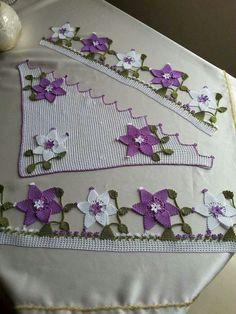 """10 Crochet Fleurs 2.5/"""" fait main Violet Coquelicot pour Granny Squares couvertures Craft"""