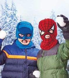 Kid's Licensed Cold Weather Masks