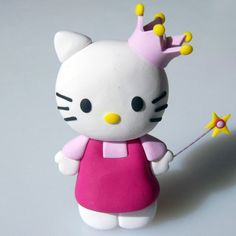 Hello Kitty Cakes | hello kitty princess cake model topper