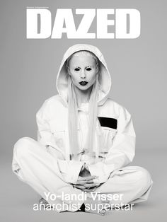 SPRING, 2015: Yo-landi Visser of Die Antwoord fronts the extreme issue of Dazed. Shot by Pierre Debusschere and styled by Robbie Spencer. Yo-landi wears Marc Jacobs. Read about the new issue here: http://www.dazeddigital.com/artsandculture/article/23591/1/spring-2015-yo-landi-visser