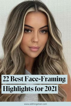 Brown Hair With Blonde Highlights, Blonde Hair Looks, Balayage Hair Blonde, Brunette Hair, Balayage Hair Colour, Balayage With Highlights, Highlights Around Face, Face Frame Highlights, Front Highlights