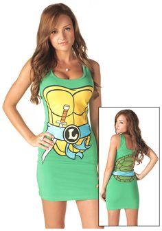 TMNT - Future Bridesmaid Dresses.  ...Just kidding ;)