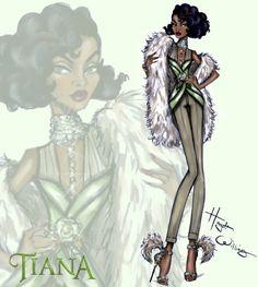 Disney Diva 'Fashionistas' por Hayden Williams: Tiana