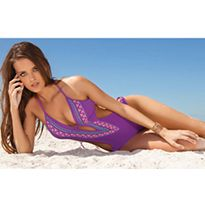f181835359 Feminine and sexy swimsuits that enhance and complement a woman s curves. S  Curves