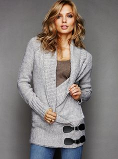 Would love to find something similar in plus size. :P #sweaters #cardigans #warm