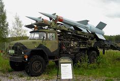 anti aircraft vehicles | anti-aircraft missile launching vehicle displayed at the Anti-Aircraft ...