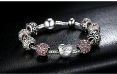 BAMOER Antique 925 Silver Charm Bangle & Bracelet with Love and Flower Crystal Ball for Women Weddin  $48.00 free shipping You save 49% off the regular price of $95.00. Sold by aTINI ECA Store from China. BUY this TripleClicks product and Register Free.  Grab a Signing Bonus of $100 at:  BUY this TripleClicks product and Register Free.  Grab a Signing Bonus of $100 at:  http://www.sfi4.com/12240620.30/free.