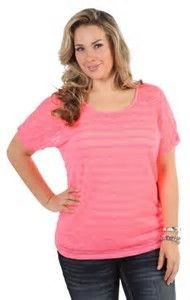 Image result for flattering clothes for overweight women