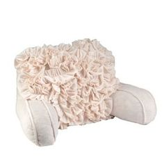 Cream Bed Rest Pillow - On Sale $29.98