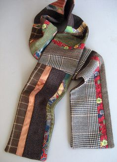 patchwork scarf~Ohhhh yes please!