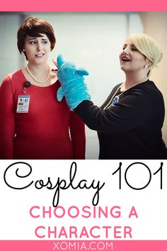 Choosing a character for cosplay...one of the most difficult tasks!