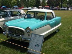 Nash Metropolitan- Greenfield Village   My Car!! The coveted car driven by Nancy Drew!!  I want one!!!