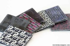 Make a slim leather wallet | 23 DIY Upgrades Any Man Can Make To Look Better
