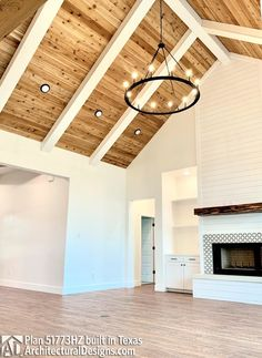 Are you searching for inspiration for modern farmhouse? Check this out for very best modern farmhouse inspiration. This particular modern farmhouse ideas will look excellent. Modern Farmhouse Plans, Modern Farmhouse Kitchens, Farmhouse Decor, Modern Farmhouse Interiors, Texas Farmhouse, Country Modern Home, Farmhouse Front, Farmhouse Ideas, Home Design