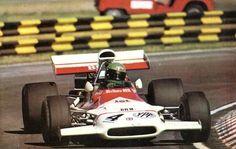 Reine Wisell, Marlboro-BRM P160B, 1972.