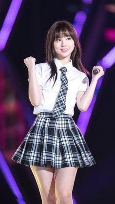 Sexy cutie Eunha Cute School Uniforms, School Uniform Girls, Girls Uniforms, Get Skinny Legs, Girls In Mini Skirts, Cute Asian Girls, Wedding Lingerie, Beautiful Asian Women, Ulzzang Girl