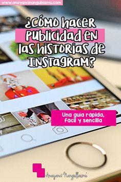 Crea tus anuncios de Instagram Stories con la guía. Click en el link.