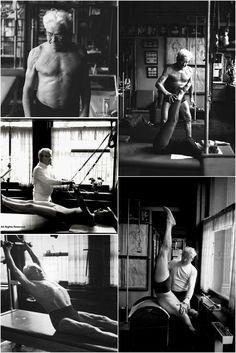 Joseph Pilates montage