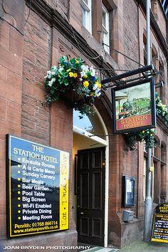 Station Hotel, Penrith, Cumbria, England, UK