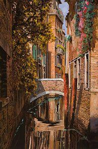 Painting - autunno a Venezia by Guido Borelli
