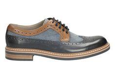 Clarks Darby Limit - Blue Combi - Mens Formal Shoes | Clarks