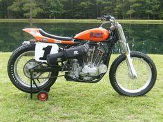 1980 HARLEY DAVIDSON XR750 FLAT TRACK RACE BIKE