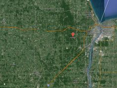 St. Clair County Sheriff's are searching for a missing plane near Kimball, Mich. One person is on board the plane.