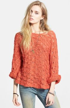 Free People Cowl Back Pullover available at #Nordstrom
