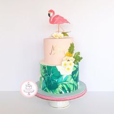 Image result for giant palm leaf print caKE