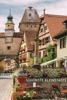 These are Germany& ten most beautiful small towns- Das sind Deutschlands zehn schönste Kleinstädte These are the 10 most beautiful small towns in Germany. Places To Travel, Places To See, Travel Destinations, Summer Family Pictures, Belle Villa, Abandoned Castles, Travel Goals, Photos Du, Germany Travel