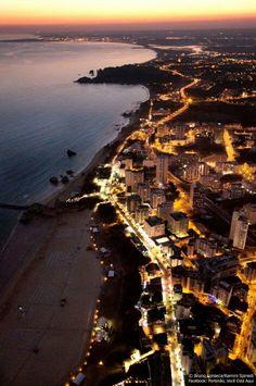 Praia da Rocha by night