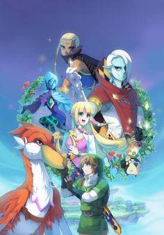 Tags Anime Fanart Nintendo The Legend Of Zelda Pixiv