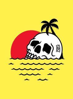 Sunset Skull // source: joaozms