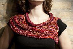Ravelry: Flurries Cowl pattern by Liz Abinante